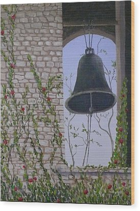 Ring My Bell Wood Print