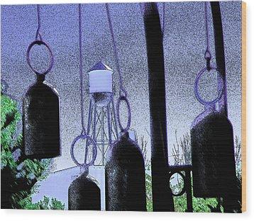 Ring Them Bells Wood Print by Lenore Senior