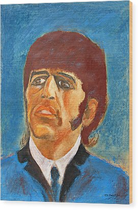 Ringo Wood Print by Tom Conway