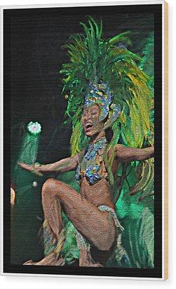 Rio Dancer I B  Wood Print