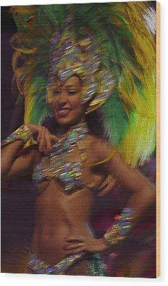 Rio Dancer IIi A Wood Print