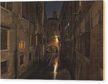 Rio Della Verona Wood Print by Marion Galt