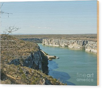Wood Print featuring the photograph Rio Grande by Erika Weber