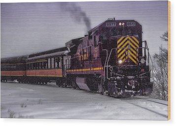 Rio Grande Scenic Railroad Wood Print by Ellen Heaverlo