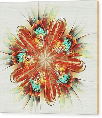 Riot Wood Print by Anastasiya Malakhova