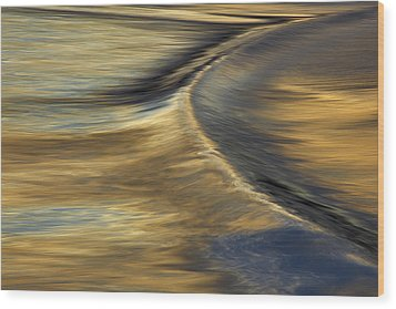 Ripple #1  Mg_6679 Wood Print by David Orias