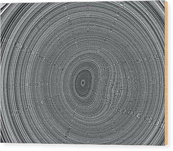 Ripple Wood Print by Pharris Art
