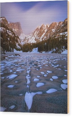 Rippled Dream Wood Print by Morris  McClung