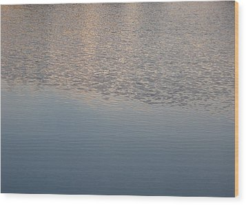 Wood Print featuring the photograph Ripples by Laurie Stewart