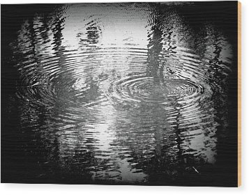Wood Print featuring the photograph Ripples by Michael Dohnalek