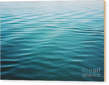 Wood Print featuring the photograph Ripples by Sylvia Cook