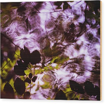 Wood Print featuring the  Rippling Reflections by Haren Images- Kriss Haren