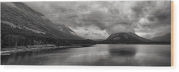 Rising Storm Clouds Wood Print by Andrew Soundarajan