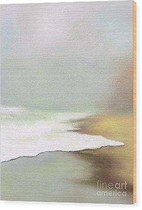 Rising Tides Wood Print by Frances Marino