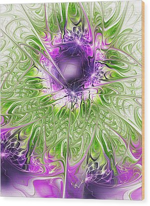 Ritual Wood Print by Anastasiya Malakhova