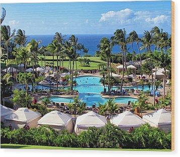 Ritz Carlton 17 Wood Print