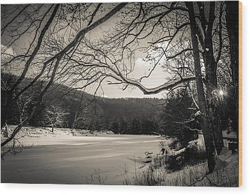 River Wood Print by Anthony Thomas