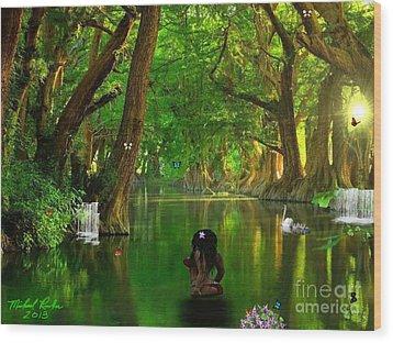 River Beauty Wood Print by Michael Rucker