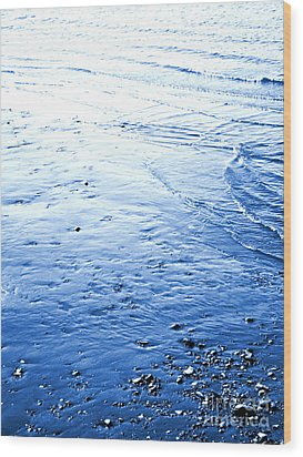 Wood Print featuring the photograph River Blue by Robyn King