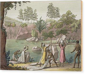 River Near San Benedetto, Madagascar Wood Print by Gallo Gallina