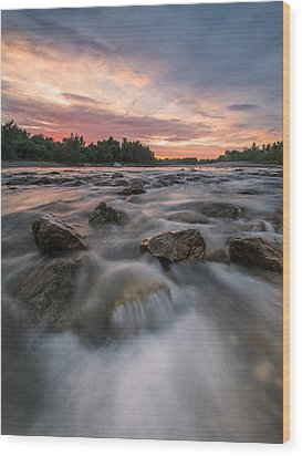 River Of Dreams Wood Print by Davorin Mance