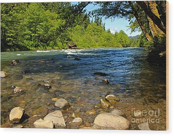 River Of Song  Wood Print by Tim Rice