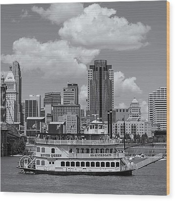 River Queen Wood Print