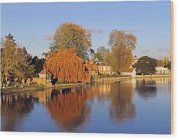 River Thames At Marlow Wood Print by Tony Murtagh