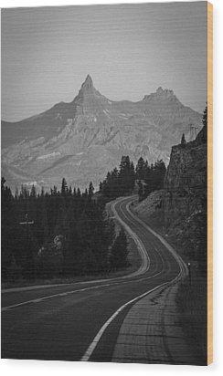 Road To Mordor Wood Print