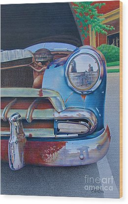 Road Warrior Wood Print by Pamela Clements