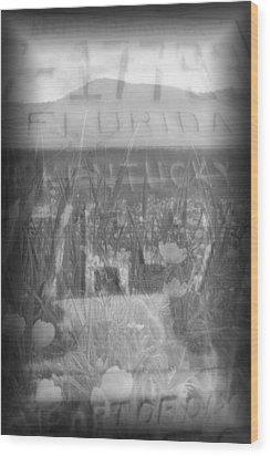 Roadtrip 2 Black Or White Wood Print
