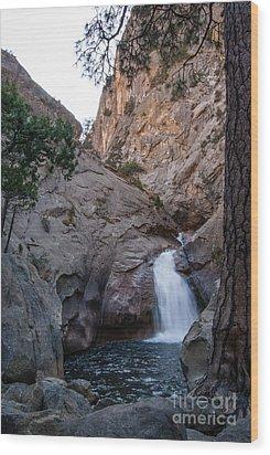 Roaring River Falls 1-7788 Wood Print