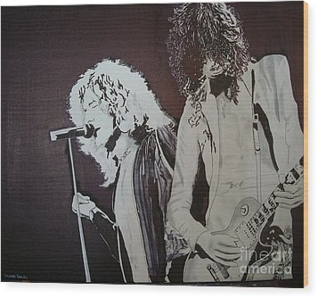 Robert And Jimmy Wood Print by Stuart Engel