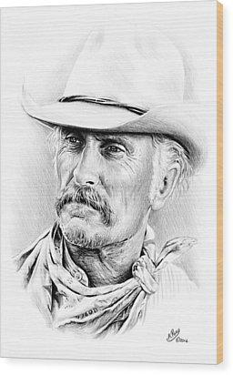 Robert Duvall Wood Print
