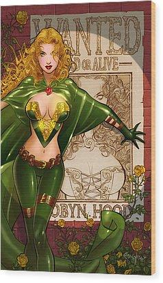 Robyn Hood 03e Wood Print by Zenescope Entertainment