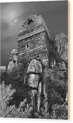 Roche Rock Wood Print by Debra Jayne
