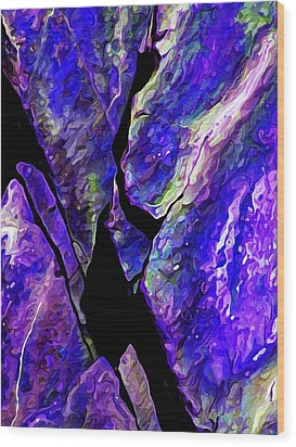 Rock Art 19 Wood Print