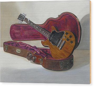 Wood Print featuring the painting Rock Candy by Gail Chandler