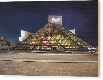 Rock Hall Wood Print