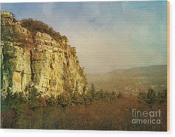 Rock Of Ages Wood Print by A New Focus Photography