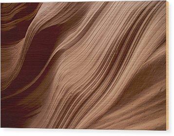 Rock Pattern 1 Wood Print by T C Brown