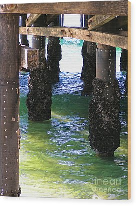 Wood Print featuring the photograph Rock Solid by Margie Amberge