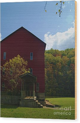 Wood Print featuring the photograph Rockbridge Mill by Julie Clements