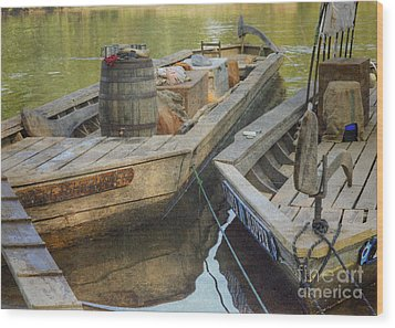 Wood Print featuring the photograph Rockfish Runner by Pete Hellmann