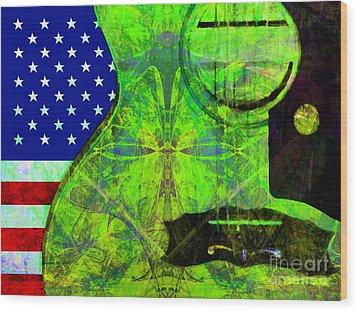 Rockin Usa 20140716 V2 P68 Wood Print by Wingsdomain Art and Photography