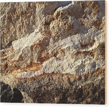 Wood Print featuring the photograph Rockscape 9 by Linda Bailey