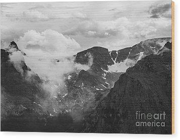 Rocky Mountain Awe Wood Print