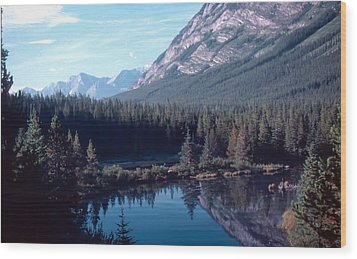 Rocky Mountain Gem Wood Print by Jim Sauchyn
