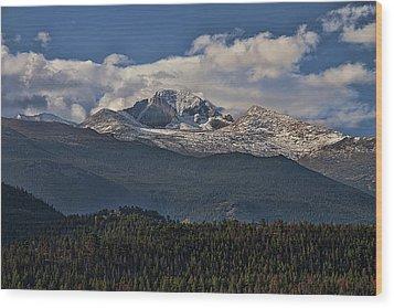 Rocky Mountain High Wood Print by Anne Rodkin