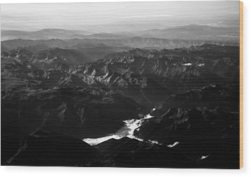 Rocky Mountain Morning Wood Print by John Daly